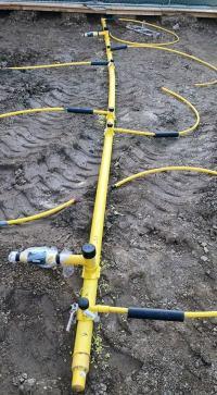 Underground Gas Pipe Installation - Acpfoto