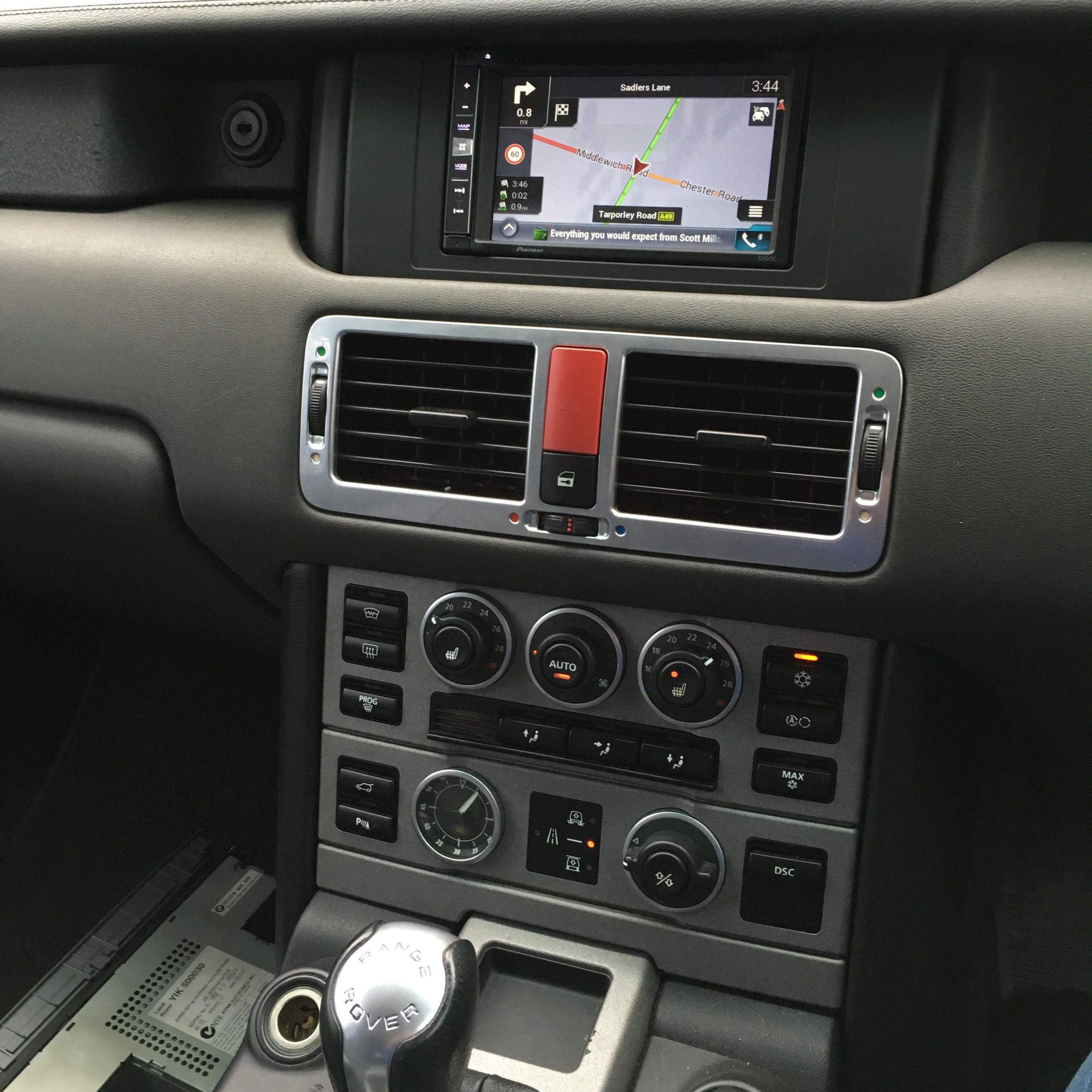 Best Free Sat Nav For Iphone Range Rover Vogue With Pioneer Avic F980dab