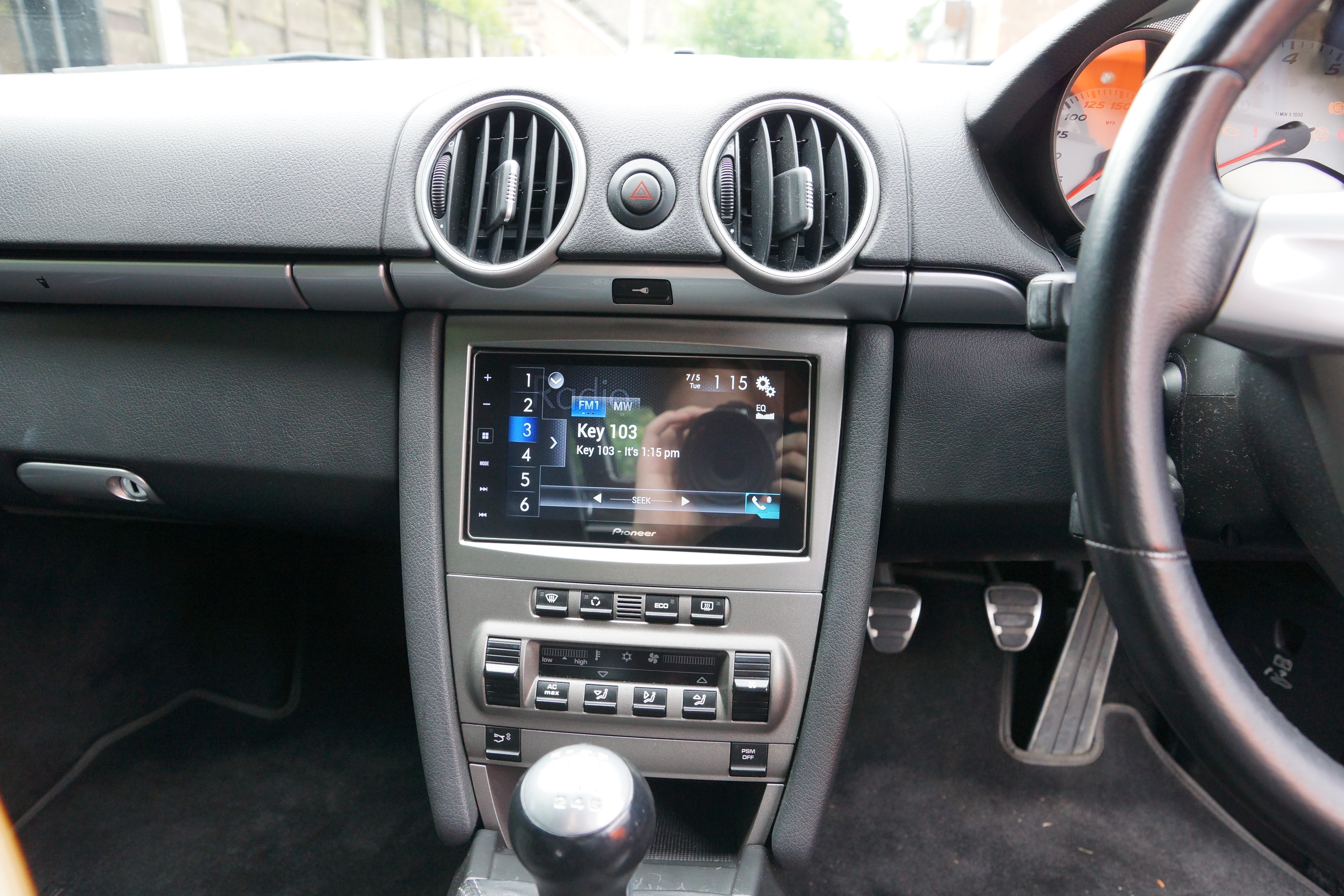 Best Free Sat Nav For Iphone Pioneer Sph Da120 Installed In Porsche Boxster