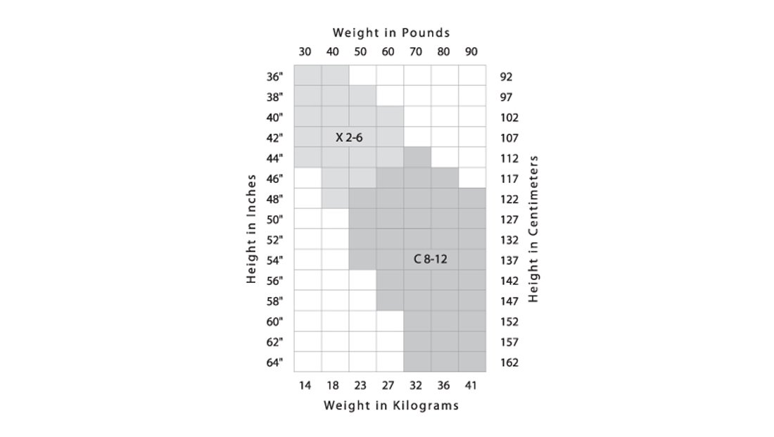Sizing  Color Charts - Ms Dancewear  Footwear Boutique Advanced