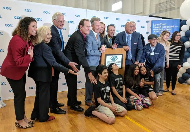BGCGSD partners with Cox Communications for a new tech center!