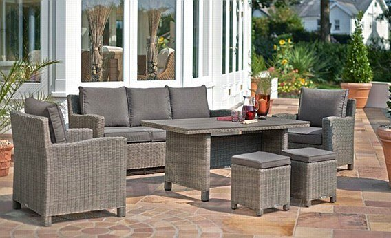 Kettler Memphis Set Woven Patio Sets For Your Home | Harrow's Serving Long