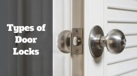 Locking Door Knobs. Entrance Locking Silver Door Knob Set ...