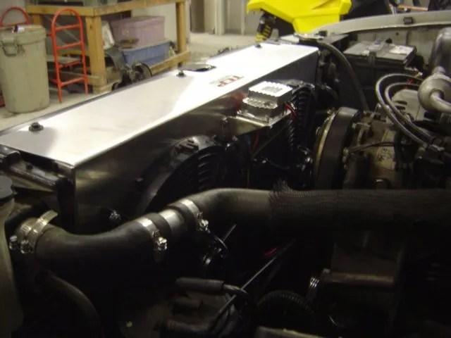 Electric Fan Conversion Chevy Truck Electric Radiator Fan