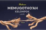 HUKUM MEMUQOTHO'AH KELOMPOK LAIN
