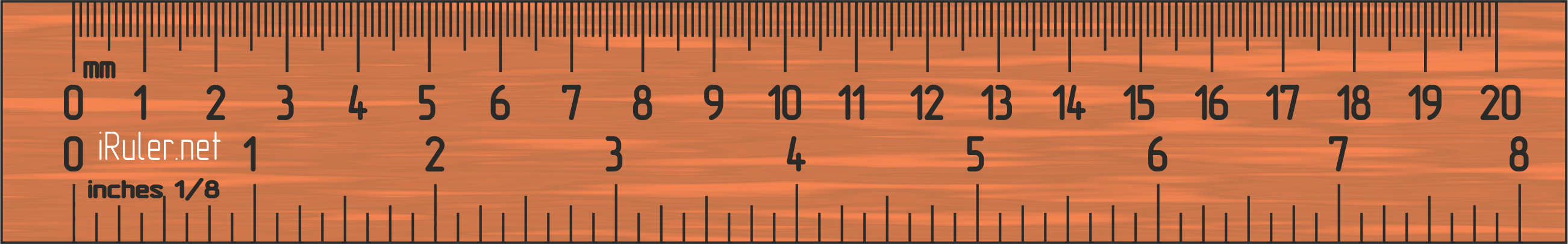 10 In Cm Iruler Online Ruler