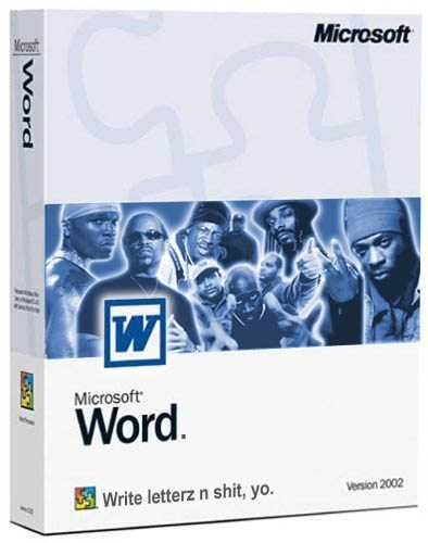 IRTI - funny picture #55 - tags Microsoft Word Rap