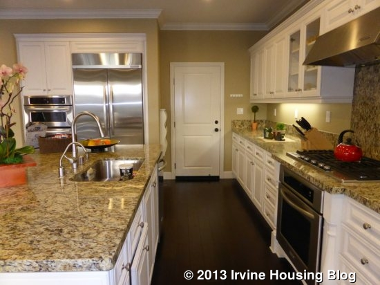 Kitchen Island Counters Open House Review: 3 Clocktower | Irvine Housing Blog