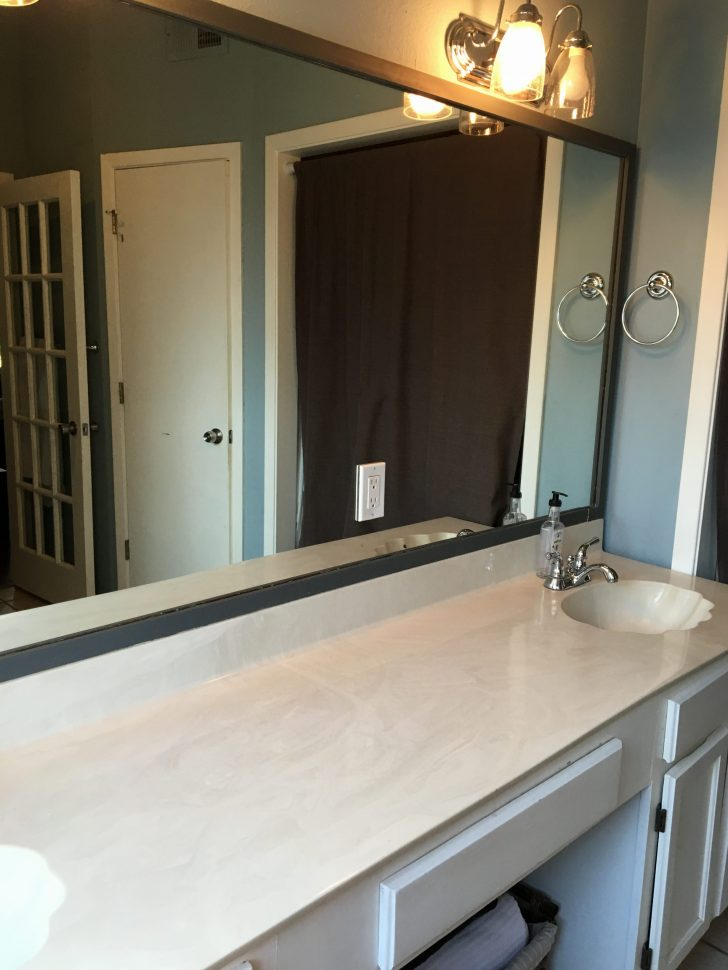 Mirrored Pocket Door Modern Farmhouse Bathroom Before & After - Irwin Construction