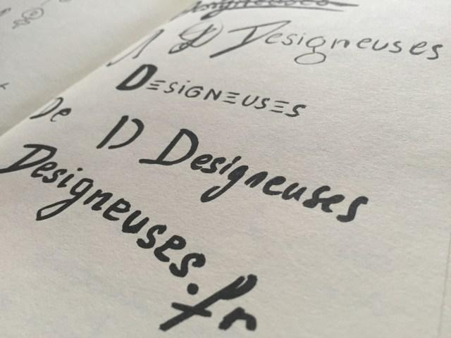 Recherches typographiques