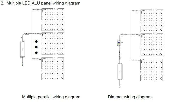 parallel wiring diagram correct