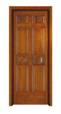 European Style Wooden Single Door Design 11.033