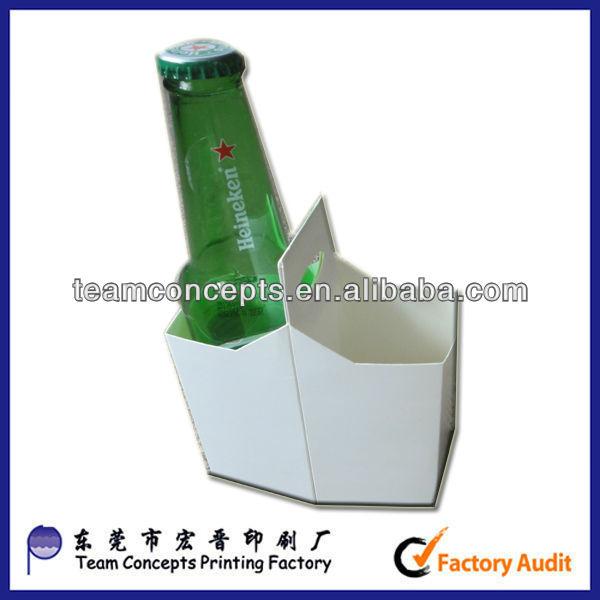 6 Pack Corrugated Cardboard Beer Holder