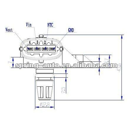Manifold Air Pressure Map Sensor 0281 002 456/0281002456 - Buy