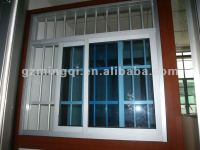 Pvc Sliding Window With Grills ( Anti