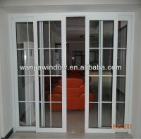 Hot Sale Lowes Sliding Glass Patio Pvc Doors