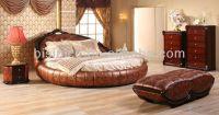 Contemporary Luxury Bedroom Furniture Set,Golden Genuine ...
