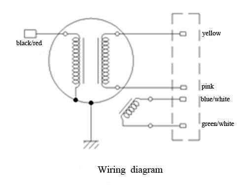 kia pride alternator wiring diagram