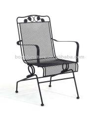 Outdoor Metal Spring Chair Furniture/ Metal Mesh Patio ...