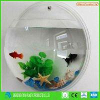 New Wall Hanging Mounted Acrylic Fish Tank Small Aquarium ...