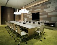 Interior Acoustic Fabric Wall Covering Panel - Buy Fabric ...