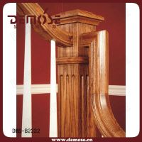 Indoor Solid Wood Railings/baluster For Staircase - Buy ...