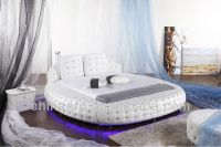 Led Under Bed Light King Size Round Bed On Sale O6821
