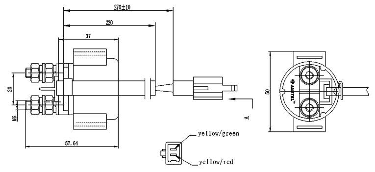 motorcycle horn relay diagrama de cableado