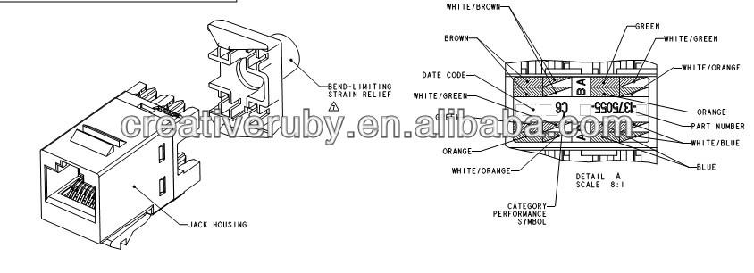 black box cat6 jack wiring video