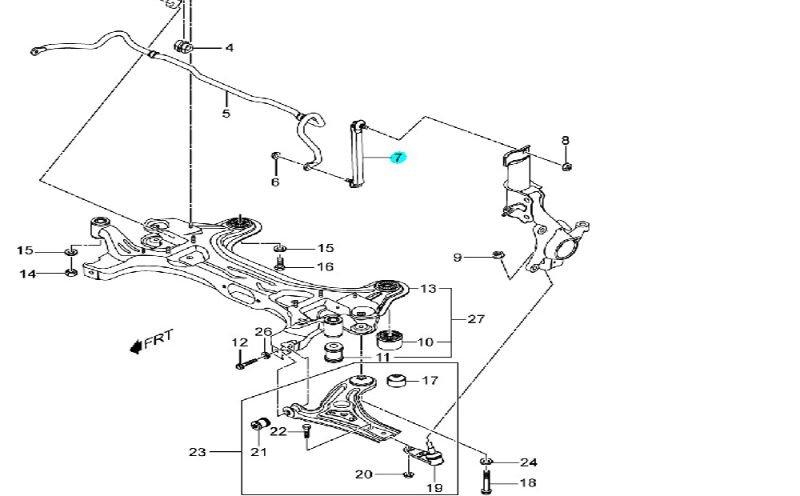 chevy aveo suspension diagram
