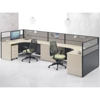 2 Person Workstation Staff Desks Furniture Design Office ...