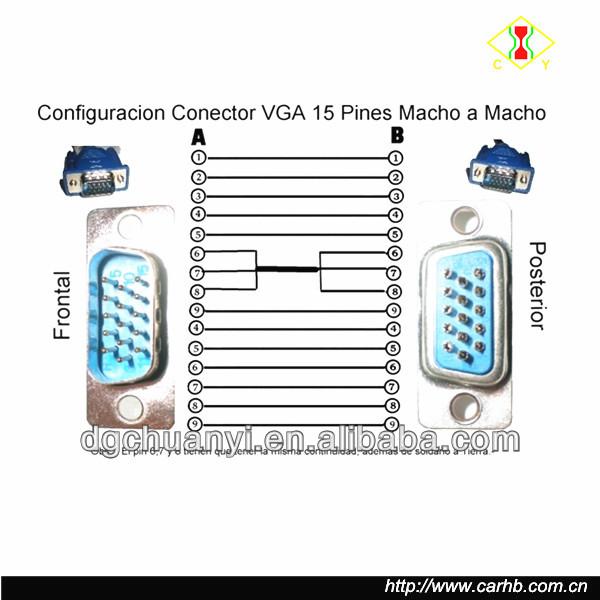 wiring diagram vga cable