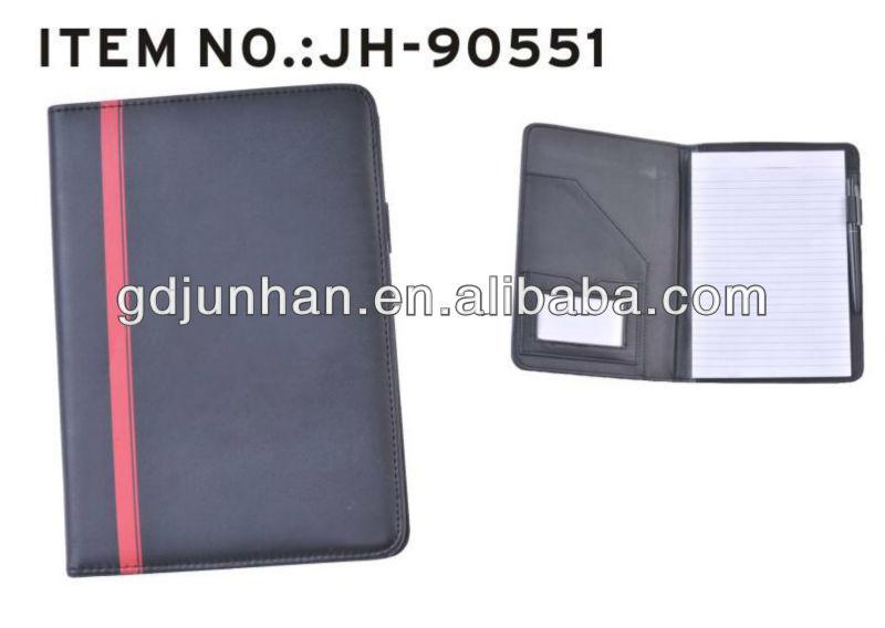 Business Binder Leather Resume Custom Zipper Portfolio - Buy Custom - leather resume portfolio