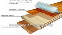 Unilin Click Lock System Bamboo 3 Layer Engineered ...