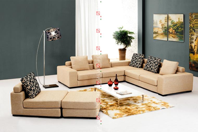 Euro Max Home Lifestyle Divan Living Room Furniture Sofa