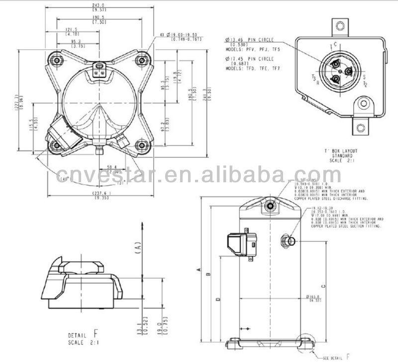 trane pressor wiring diagrams model