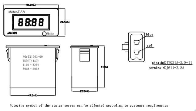 hz meter wiring diagram