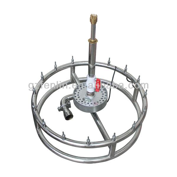install pump fountain