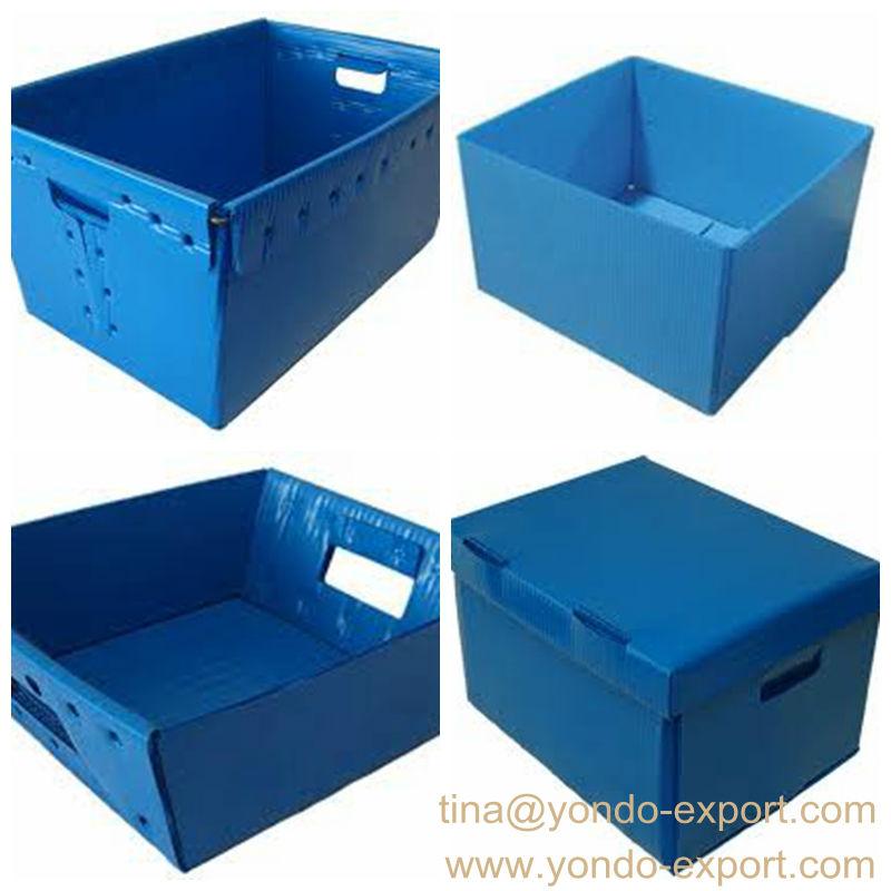 Corrugated Plastic Turnover Boxfluted Pp Totecoroplast