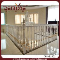 Stainless Steel Balcony Design For Solid Wood Railing ...