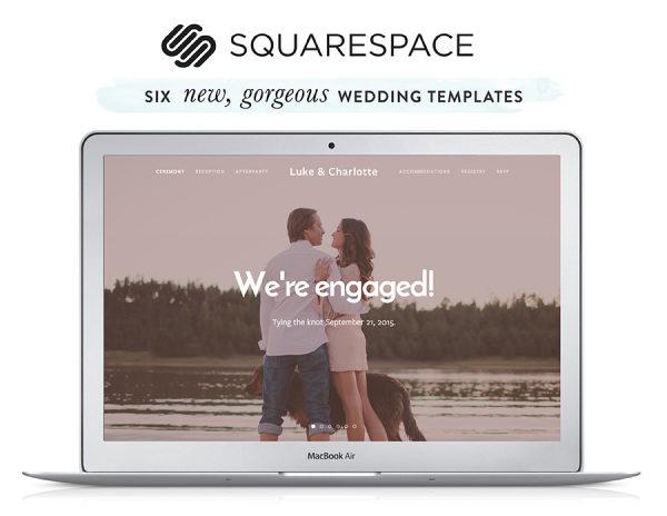 Squarespace Custom Wedding Websites + A Discount!