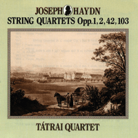 String Quartet in D minor Op. 42 Hob. III:43 II. Menuet Tátrai Quartet MP3