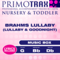Free Download Kids Primotrax Brahms Lullaby (High Key - Db) [Performance Backing Track] Mp3