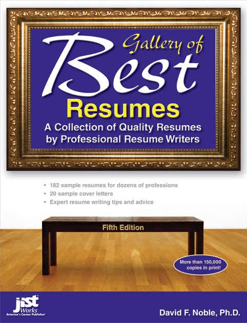Gallery of Best Resumes by David F Noble PhD on Apple Books