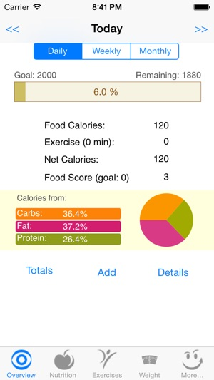 CalorieSmart Calorie Counter, Nutrition Tracker, Diet and Fitness - diet and exercise tracker