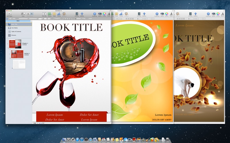 Templates for iBooks Author App Details, Reviews, Ratings - Graphics