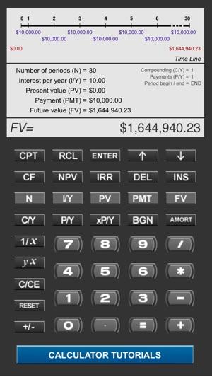 Pearson Financial Calculator on the App Store - financial calculator