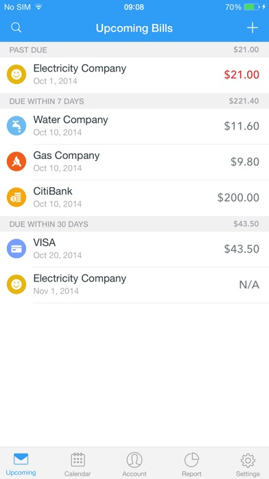 Top 10 Apps like Bills Monitor Pro for iPhone  iPad
