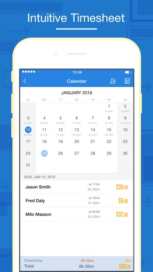 Hours Keeper Pro - Timesheet, Tracking  Billing on the App Store