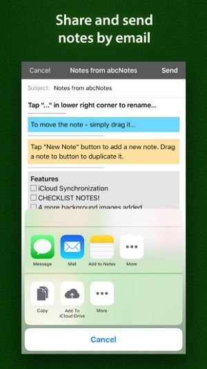 abcNotes - ToDo  Checklists on the App Store